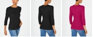 INC International Concepts INC Petite Puff Sleeve Top, Created for Macy's