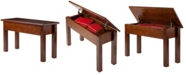 Winsome Wood Emmett Bench with Seat Storage