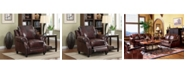 Coaster Home Furnishings Princeton Rolled Arms Push Back Recliner