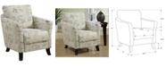 Monarch Specialties Linen Accent Chair