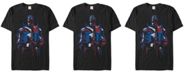 Marvel Men's Comic Collection Captain America Redemption Short Sleeve T-Shirt