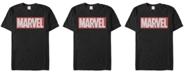Marvel Men's Distressed Marvel Men's Logo Short Sleeve T-Shirt