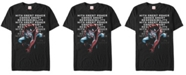 Marvel Men's Spider-Man with Great Responsibility Short Sleeve T-Shirt