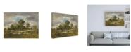 """Trademark Global Narcisse Virgile Diaz de la Pena La Mare aux Viperes Canvas Art - 36.5"""" x 48"""""""