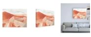 "Trademark Global June Erica Vess Desert Valley I Canvas Art - 15.5"" x 21"""
