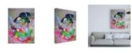 "Trademark Global Taka Sudo Civilization 3 Canvas Art - 36.5"" x 48"""