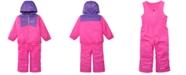 Columbia Toddler Boys & Girls Double Flake Reversible Hooded Jacket & Bib Set