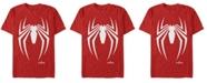 Marvel Men's Spider-Man Gamerverse Spider-Man Logo Short Sleeve T-Shirt
