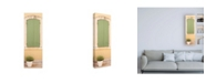 "Trademark Global Philippe Hugonnard France Provence 2 Provencal Green Window Canvas Art - 27"" x 33.5"""