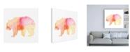 "Trademark Global June Erica Vess Agate Animal I Canvas Art - 15.5"" x 21"""