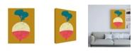 "Trademark Global Chariklia Zarris Veggie Party VIII Canvas Art - 15.5"" x 21"""