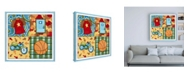 "Trademark Global Megan Meagher Hangin Out III Childrens Art Canvas Art - 36.5"" x 48"""