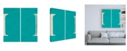 "Trademark Global Chariklia Zarris Luciens I 6 Up Canvas Art - 15.5"" x 21"""