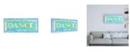 "Trademark Global Megan Meagher Dance Phrase Canvas Art - 19.5"" x 26"""