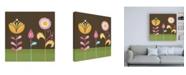 """Trademark Global June Erica Vess Patchwork Garden III Canvas Art - 36.5"""" x 48"""""""