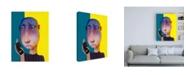 "Trademark Global Ronny Z Dead Battery Canvas Art - 15.5"" x 21"""