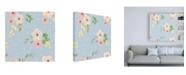 "Trademark Global Jenaya Jackson Spring Sentiments pattern IVA Canvas Art - 36.5"" x 48"""