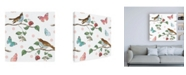 "Trademark Global Katie Pertiet Studio Botanicals Pattern V Canvas Art - 36.5"" x 48"""