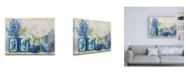 "Trademark Global Carol Rowan Ladys Mantle on Shiplap Canvas Art - 36.5"" x 48"""