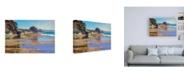 "Trademark Global Marcia Burt October High Tide Canvas Art - 15.5"" x 21"""