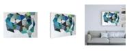 "Trademark Global Naomi Taitz Duff No Apparent Reason Canvas Art - 19.5"" x 26"""