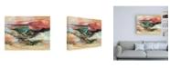 "Trademark Global Simona Goca End of Day Beige Canvas Art - 19.5"" x 26"""