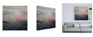 "Trademark Global Karen Hal Listen to the Silence Abstract Canvas Art - 19.5"" x 26"""