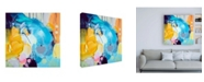 "Trademark Global Ira Ivanov Ira Ivanov Paint Expression Study 8 Canvas Art - 36.5"" x 48"""