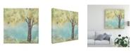 "Trademark Global June Erica Vess Glen Arbor I Canvas Art - 15"" x 20"""
