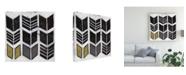 "Trademark Global June Erica Vess Algorithm X Canvas Art - 20"" x 25"""