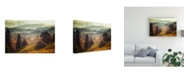 "Trademark Global Stanislav Hricko Pine Barn Canvas Art - 20"" x 25"""