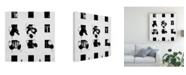 "Trademark Global Marina Yushina Satellite Building Canvas Art - 15"" x 20"""