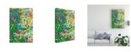 "Trademark Global Mark Lovejoy Abstract Splatters Lovejoy 13 Canvas Art - 20"" x 25"""