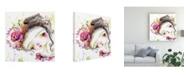 "Trademark Global Mindy Lacefield Flora Frida Canvas Art - 27"" x 33"""