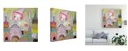 "Trademark Global Mindy Lacefield Sun Princess Canvas Art - 27"" x 33"""