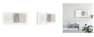 """Trademark Global Piper Rhue Horizon Neutral Canvas Art - 37"""" x 49"""""""