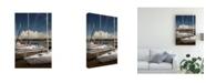 "Trademark Global Monte Nagler Saugatuck Marina Saugatuck Michigan Canvas Art - 15"" x 20"""