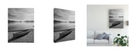 "Trademark Global Monte Nagler Lone Boat Ashore Canada Canvas Art - 20"" x 25"""