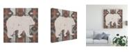 "Trademark Global Vision Studio Southwest Lodge Silhouette III Canvas Art - 20"" x 25"""