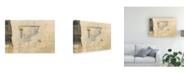 "Trademark Global Elena Ray Modern Collage III Canvas Art - 20"" x 25"""