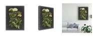 "Trademark Global Naomi Mccavitt Bookplate Floral I Canvas Art - 15"" x 20"""