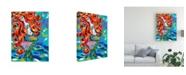 "Trademark Global Carolee Vitaletti Ocean Friends Bold IV Canvas Art - 20"" x 25"""