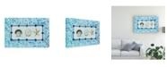 "Trademark Global Pablo Esteban Shell Over Beige 2 Canvas Art - 15.5"" x 21"""
