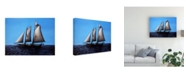 "Trademark Global Paul Walsh Sailing Ship Canvas Art - 36.5"" x 48"""