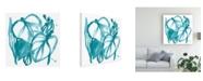 "Trademark Global June Erica Vess Boho Tropicals V Canvas Art - 19.5"" x 26"""