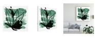 "Trademark Global June Erica Vess Tropical Sumi E VII Canvas Art - 19.5"" x 26"""