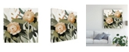 "Trademark Global Emma Scarvey Floral Disarray II Canvas Art - 15.5"" x 21"""