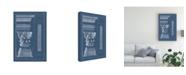 "Trademark Global Vision Studio Column and Cornice Blueprint I Canvas Art - 15.5"" x 21"""