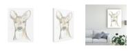 """Trademark Global June Erica Vess Deer Cameo II Canvas Art - 15.5"""" x 21"""""""