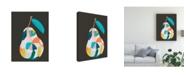 "Trademark Global June Erica Vess Fab Fruit I Canvas Art - 27"" x 33.5"""